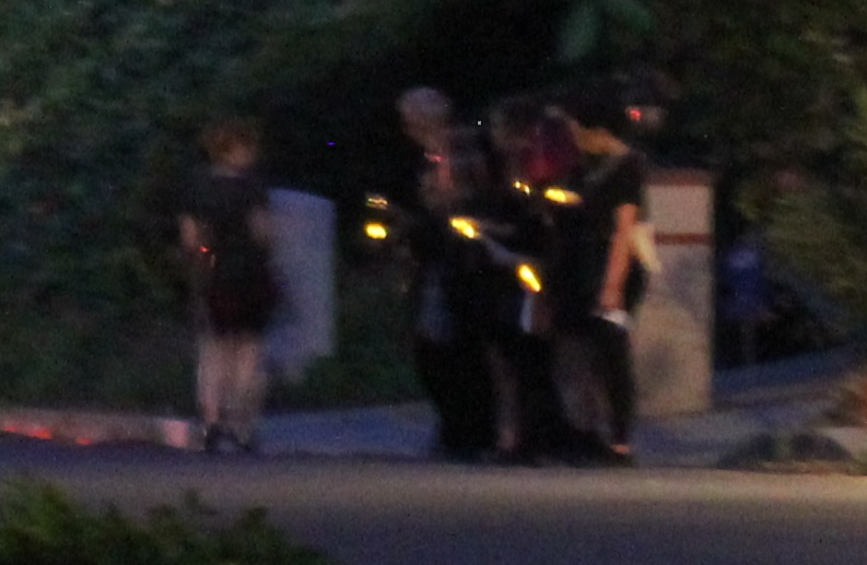 A Progress for Science vigil outside of my home.